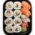 Japon · sushi · ayarlamak · bitkisel · çaylar · demlik · plaka - stok fotoğraf © frescomovie
