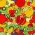 リンゴ · 装飾的な · 紙 · テクスチャ · 抽象的な - ストックフォト © frescomovie