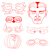 mask collection vector illustration stock photo © frescomovie
