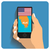 smartphone with mobile gps stock photo © frescomovie