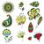 bloemen · kruiden · vector · wenskaart · liefde - stockfoto © frescomovie