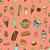 вектора · Вишневое · вафельный · продовольствие · дизайна - Сток-фото © frescomovie