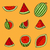 арбуза · эскиз · икона · веб · мобильных · Инфографика - Сток-фото © frescomovie