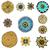 いたずら書き · スクロール · セット · 手描き · 装飾的な · 要素 - ストックフォト © frescomovie