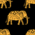 pattern with indian elephants stock photo © frescomovie