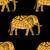 minta · indiai · elefántok · vektor · kézzel · rajzolt · firka - stock fotó © frescomovie