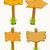 vazio · quadro · de · avisos · flores · grama · abstrato · vetor - foto stock © frescomovie