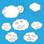 yaratıcı · yağmur · bulut · gökkuşağı · dizayn - stok fotoğraf © frescomovie