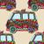 seamless pattern of vintage car stock photo © frescomovie