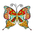 amazing fly butterfly stock photo © frescomovie