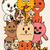 conjunto · bonitinho · gato · desenho · animado · engraçado - foto stock © frescomovie