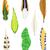 narancs · őslakos · amerikai · kisebbségi · minta · vektor - stock fotó © frescomovie