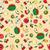 aranyos · szett · dinoszauruszok · gyümölcsök · görögdinnye · alma - stock fotó © frescomovie