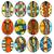 halloween · doodle · patroon · gekleurd · vector - stockfoto © frescomovie