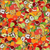 seamless pattern with set of fruits and vegetation seamless tex stock photo © frescomovie