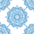 vector · azulejo · floral · sin · costura · étnicas - foto stock © frescomovie
