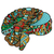 colored sketchy human brain stock photo © frescomovie