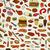 бесшовный · барбекю · шаблон · иллюстрация · пикника · продовольствие - Сток-фото © frescomovie