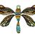 ornate zentangle dragonfly stock photo © frescomovie