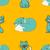 cats seamless pattern stock photo © frescomovie