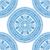 Blauw · mandala · etnische · decoratief · communie - stockfoto © frescomovie