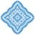美しい · 青 · 曼陀羅 · 孤立した · 白 · ファッション - ストックフォト © frescomovie