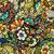 bloem · naadloos · tekst · textuur - stockfoto © frescomovie