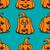 vector textured pumpkins stock photo © frescomovie