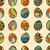 végtelen · minta · szín · húsvéti · tojások · absztrakt · festék · csoport - stock fotó © frescomovie