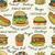 background of sketchy fast food illustrations stock photo © frescomovie