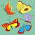 voar · inseto · esboço · sem · costura · símbolo · ilustração - foto stock © frescomovie