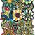 ヘナ · 曼陀羅 · デザイン · インド · 芸術 · 葉 - ストックフォト © frescomovie