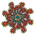 ornament · kleur · kaart · mandala · vintage · decoratief - stockfoto © frescomovie