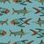 poissons · bleu · eau · mer · peinture - photo stock © frescomovie