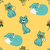 cats seamless pattern stock photo © frescomovie