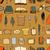 groot · ingesteld · boeken · pen · naadloos - stockfoto © frescomovie