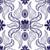 青 · デザイン · オランダ語 · タイル · 繊維 - ストックフォト © frescomovie