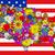 pavilion · Statele · Unite · hartă · America · American · Flag · proiect - imagine de stoc © frescomovie