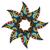mandala · vintage · decorativo · renda · projeto - foto stock © frescomovie