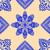 étnicas · floral · sin · costura · patrón · estilo - foto stock © frescomovie