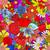フローラル · ピンク · 花 · いたずら書き · 手描き - ストックフォト © frescomovie