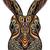 tribal patterned rabbit stock photo © frescomovie