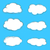 paisagem · atmosfera · fofo · branco · nuvens · blue · sky - foto stock © frescomovie