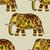 kézzel · rajzolt · indiai · elefánt · firka · törzsi · dísz - stock fotó © frescomovie