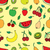 pommes · fruits · croquis · dessin · feuille - photo stock © frescomovie