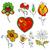 fiori · erbe · vettore · biglietto · d'auguri · amore · floreale - foto d'archivio © frescomovie