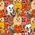 sevimli · canavarlar · kediler · vektör · renkli - stok fotoğraf © frescomovie