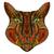 虎 · 頭 · 部族 · 入れ墨 · 黒 · インク - ストックフォト © frescomovie