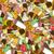 kleurrijk · ijs · illustratie · zoete · behang - stockfoto © frescomovie