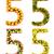 番号 · 食品 · 孤立した · 白 · チョコレート · 卵 - ストックフォト © frescomovie